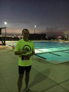 Pre-race. Swim prep.