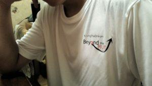 Beyond the Rut t-shirt front