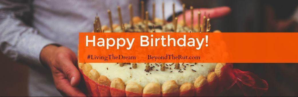 Happy Birthday! A blog post by Brandon Cunningham.