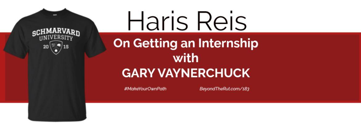 Getting an internship